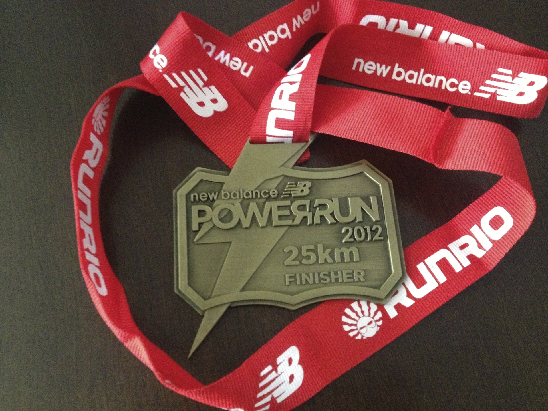 new balance power run 2016 medal